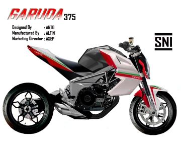 motor produk indonesia (Garuda 375)