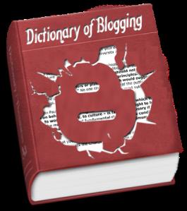 kamus blogging