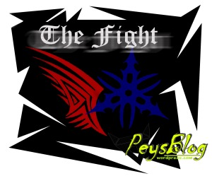 the fight sticker yamaha vs honda