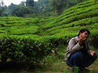 Ahmad Fery di Puncak Bogor