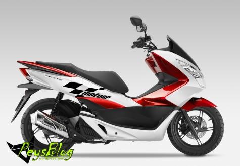 2014 Honda PCX125 scooter