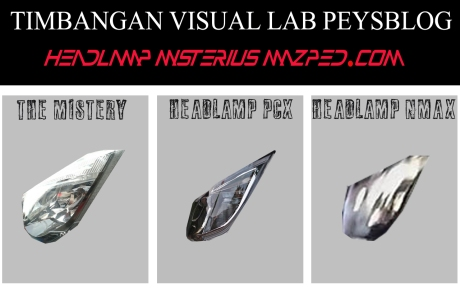 TIMBANGAN VISUAL HEADLAMP MAZPED