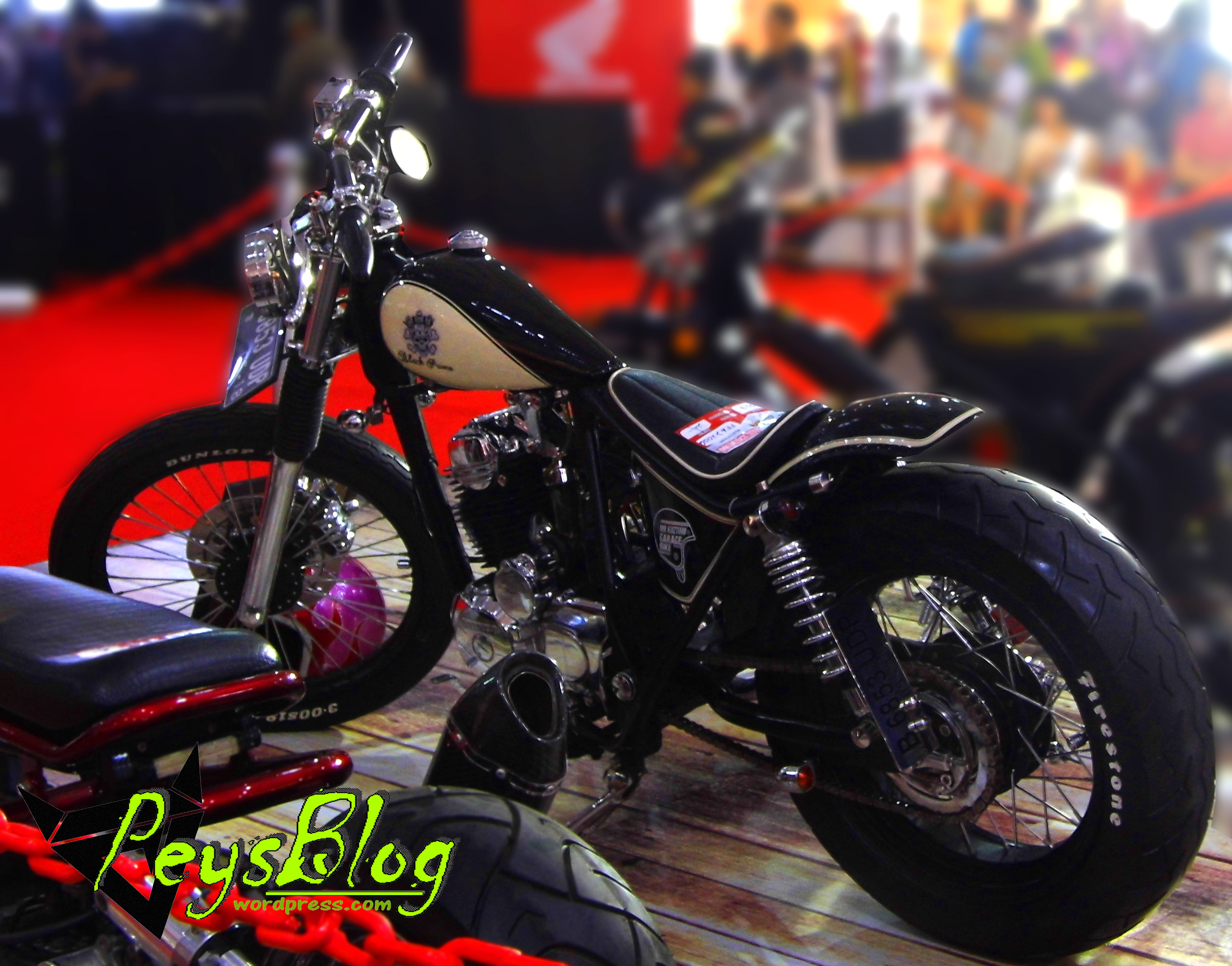 Black Prince Chopper Honda Seharga 18 Juta Mauuuuuu PEYSBLOG