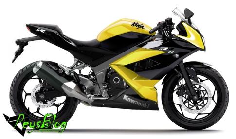 Ninja 150 4 Tak Kuning