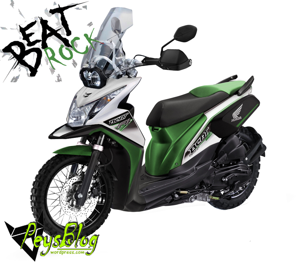 Inilah Honda Beat Rock Refleksi Dari Hadirnya Beat Pop PEYSBLOG