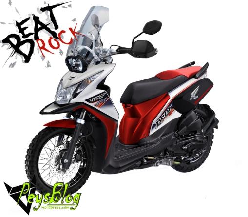 Honda Beat Rock Peysblog Merah
