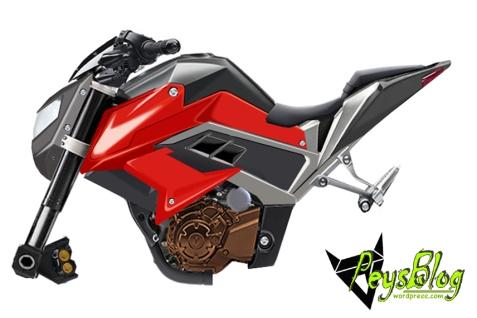 Motor Wajah Ninja