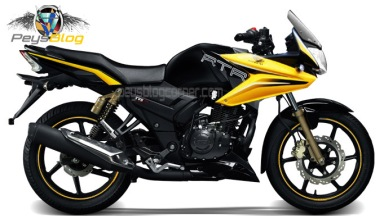 Apache Half Fairing Yellow