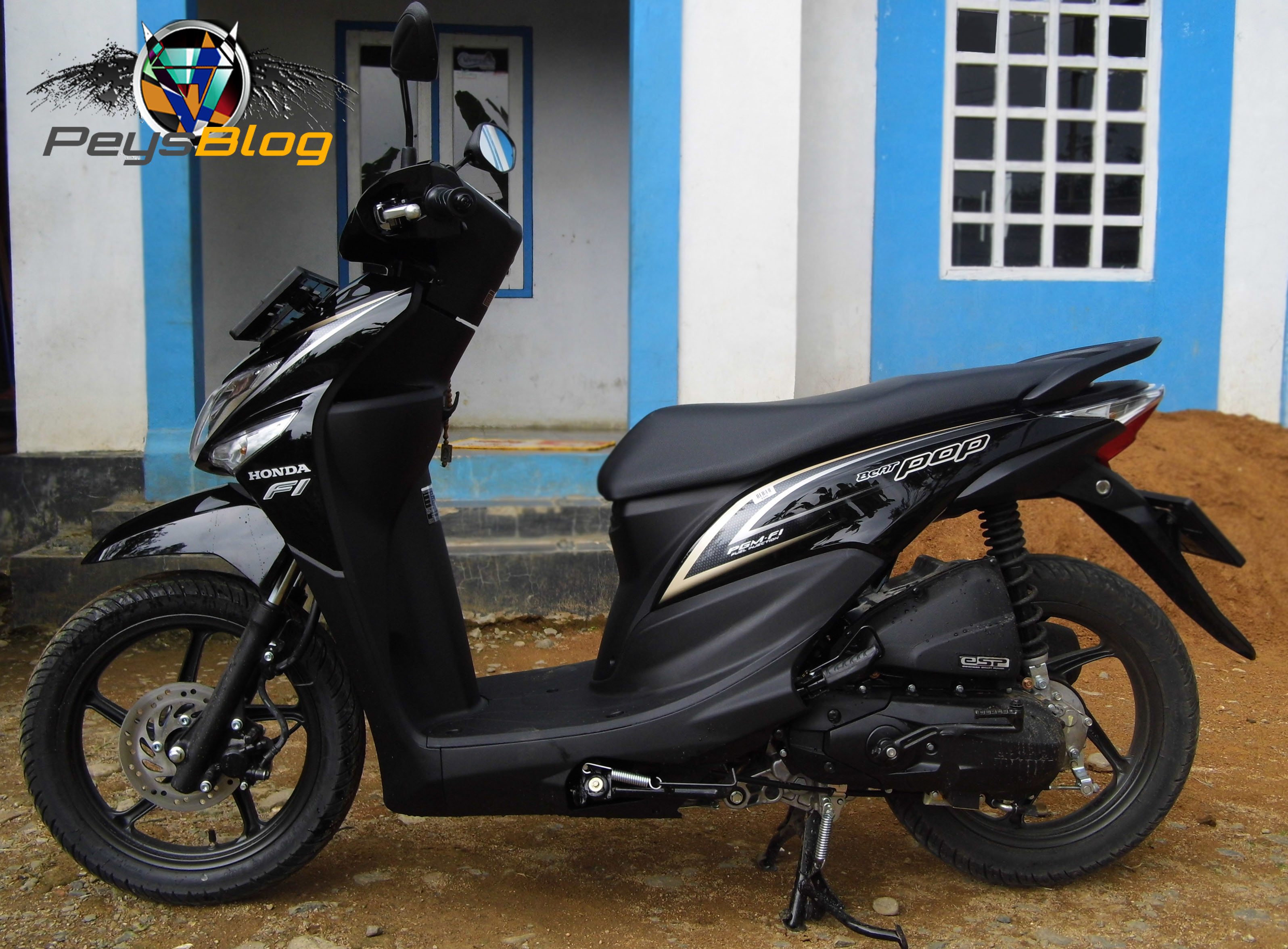 103 Modifikasi Motor Beat Pop Hitam Modifikasi Motor Beat Terbaru