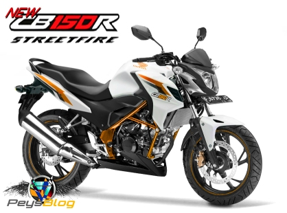 NEW CB150R 2015 ORANGE