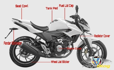 ALL NEW CB150R FULL ASESORIS