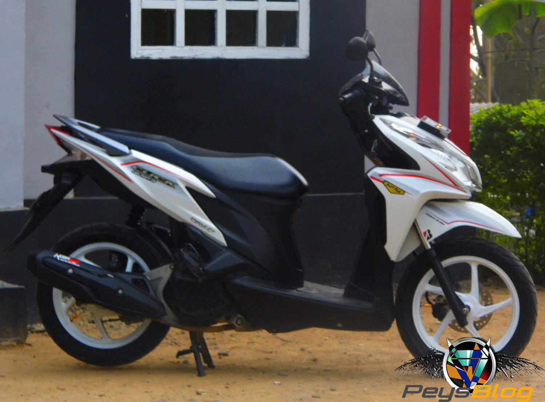 97 Modifikasi Motor Vario 125 Warna Putih Terbaru Kumbara Modif