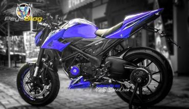 new cb150r modif biru