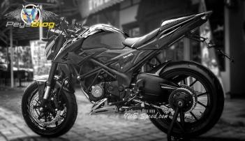 new cb150r modif hitam