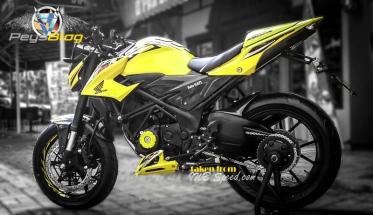 new cb150r modif kuning