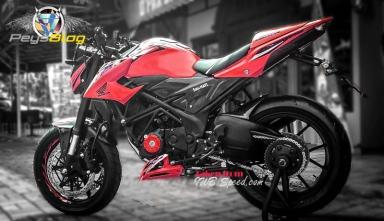 new cb150r modif merah