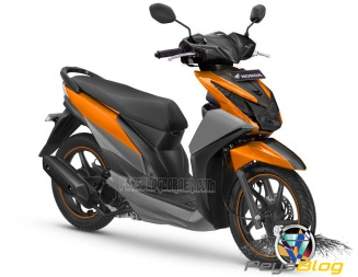 BEAT MODIF WARNA ORANGE