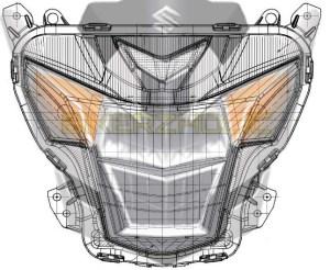 blueprint lampu satria