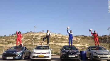 speed sisters with cars