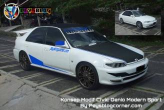 Modifikasi Civic Genio Modern Sport