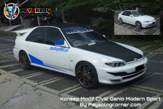 Modifikasi Civic Genio Modern Sport