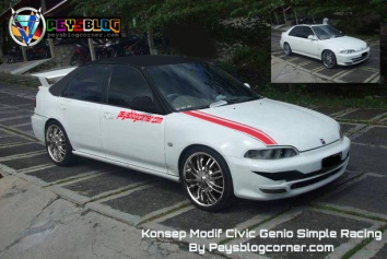 Modifikasi Civic Genio Simple Racing