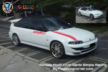 Modifikasi Civic Genio Simple Racing