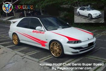 Modifikasi Civic Genio Super Speed