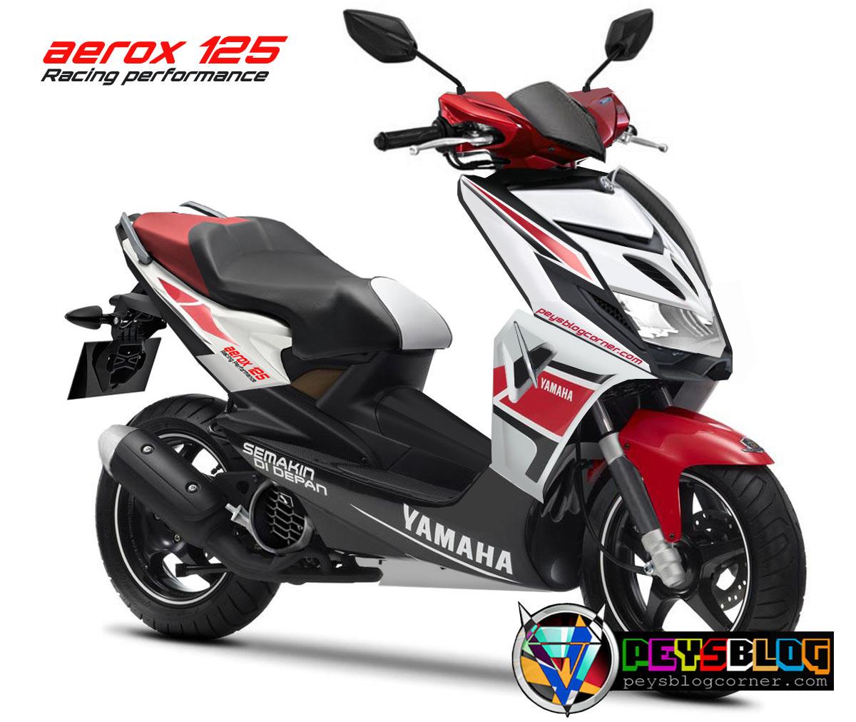 99 Gambar Motor Matic Yamaha Aerox Terlengkap Gubuk Modifikasi