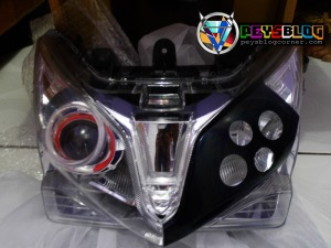 Modif cutting headlamp vario asimetris