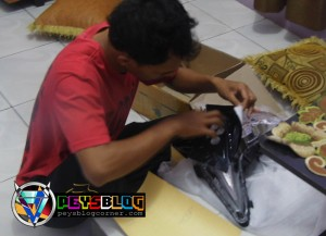 Modif Cutting Headlamp Vario sendiri