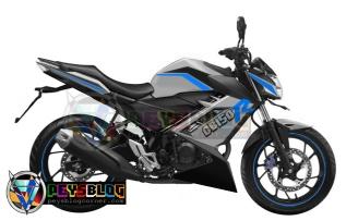 modifikasi all new CB150r 2015 putih biru