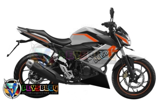 modifikasi all new CB150r 2015 putih orange