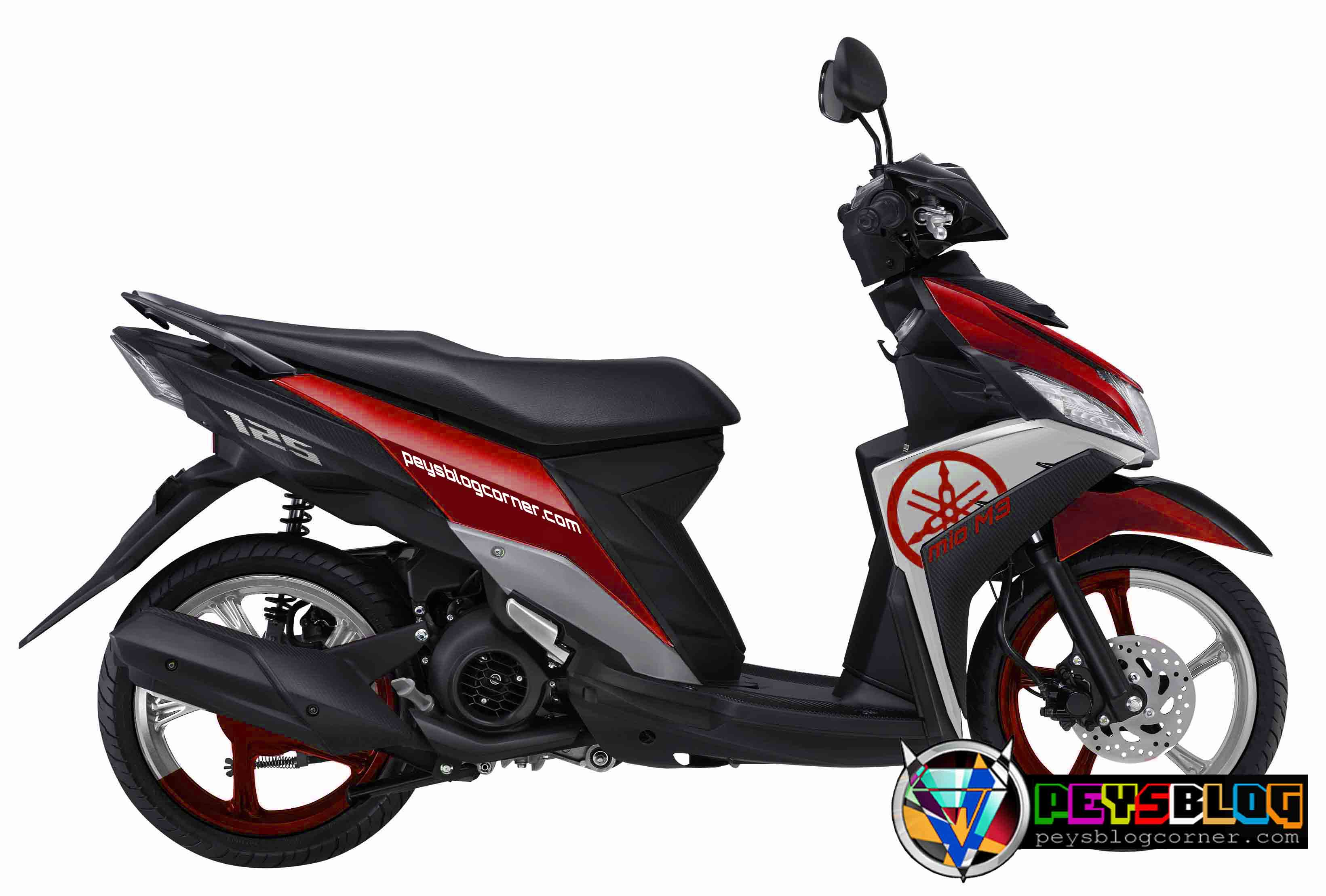 Top modifikasi striping mio m3