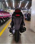 Buritan Yamaha Aerox Tampak belakang