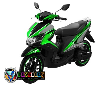 modifikasi cutting sticker gt 125 Hijau