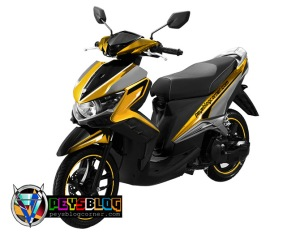 modifikasi cutting sticker gt 125 Kuning