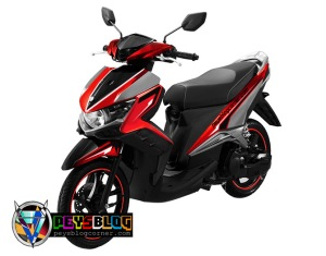 modifikasi cutting sticker gt 125 Merah