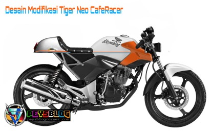 Modifikasi Tiger Neo Cafe Racer