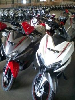 Yamaha Aerox 125 Merah Putih