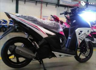 Yamaha Aerox Full Body warna putih