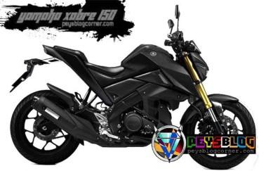 Yamaha Xabre Hitam