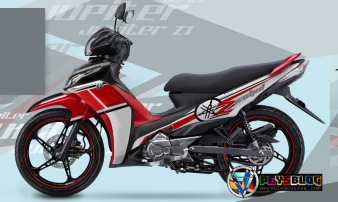 Modifikasi Jupiter Z Merah