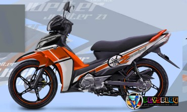 Modifikasi Jupiter Z Orange