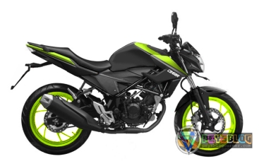 NEW CB150R BLACK STABILO