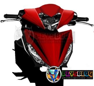 supra x 150 merah