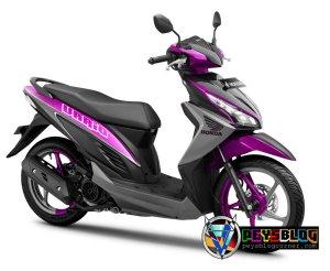 Vario 110 modifikasi warna ungun