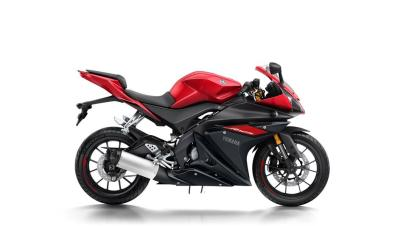 yamaha r125 red black