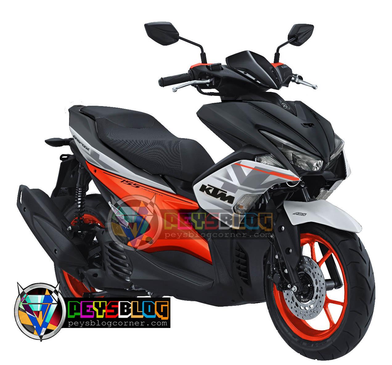 Download Koleksi 56 Modifikasi Yamaha Aerox 155 S Version Terkeren