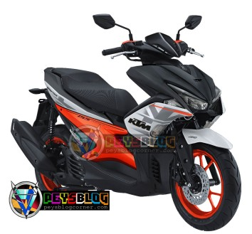 Modifikasi Yamaha Aerox 155 Sporty Ala RC200